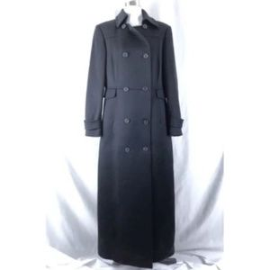 J Crew Womens Trench Coat Wool Blend Size 10